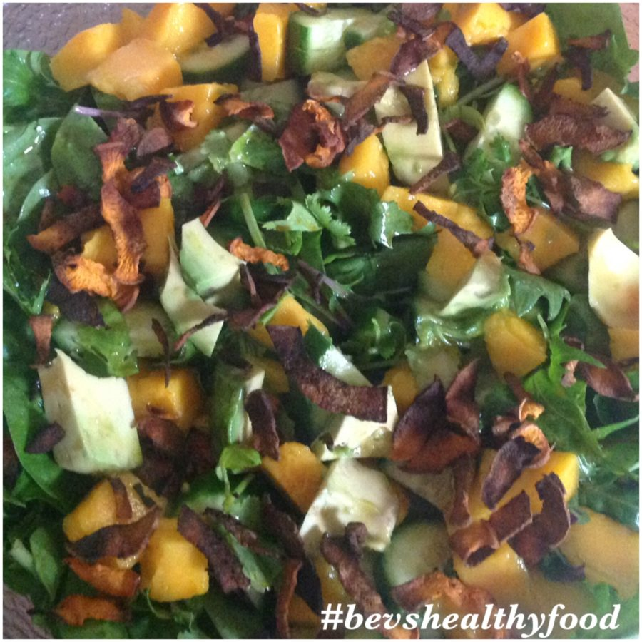 Mango & Sweet Potato Crisp Salad