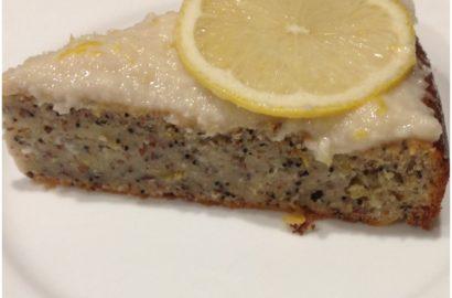 Lemon PoppyChia Seed Cake