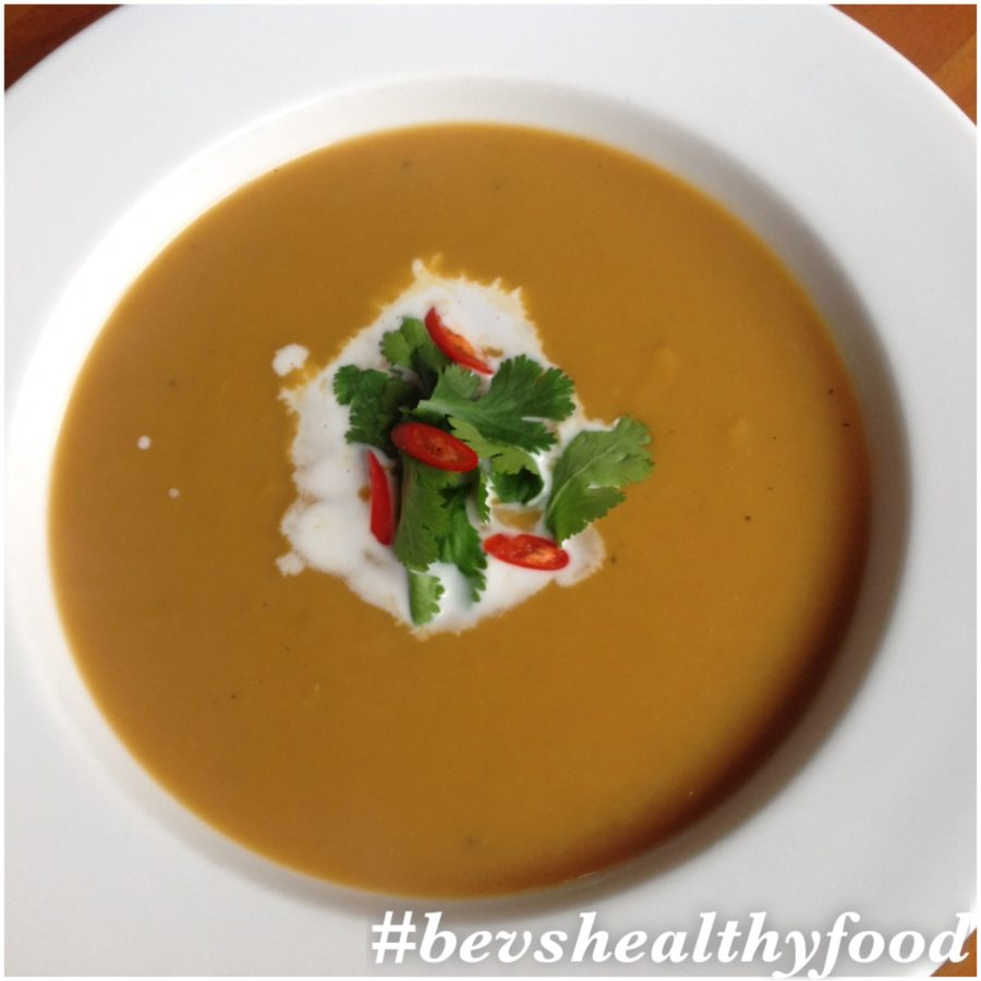 Hot'n'Spicy Pumpkin Soup