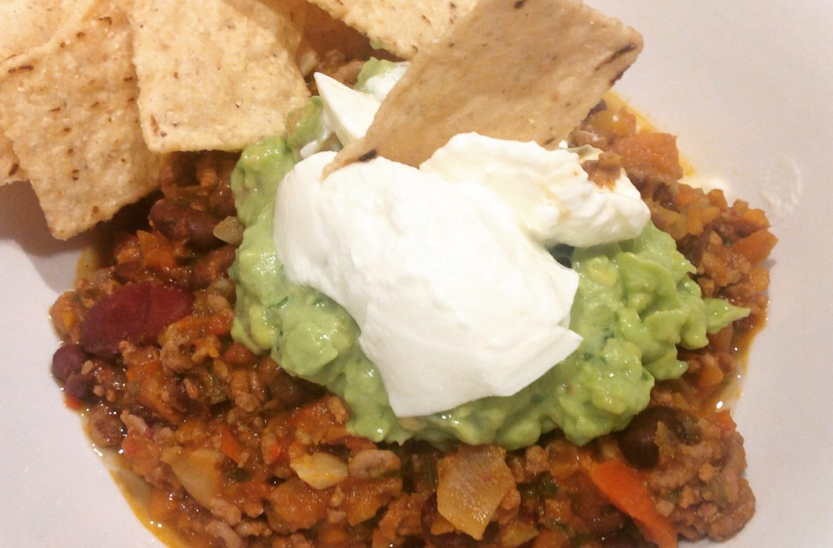 Spicy Chilli con Carne