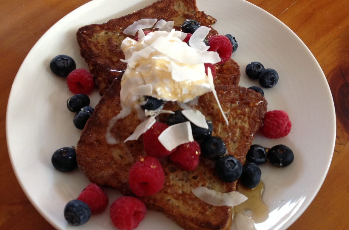 Vanilla Protein French Toast