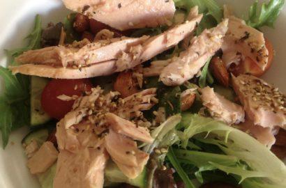 Spicy Dukka Tuna Salad