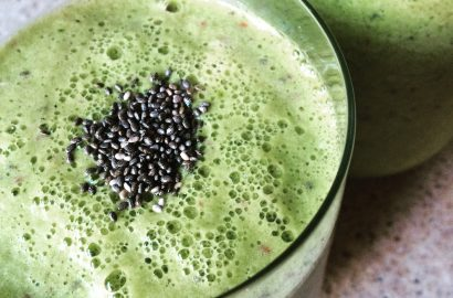 Pineapple Chia Chai Smoothie