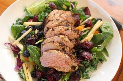 Pork Loin Beetroot Salad