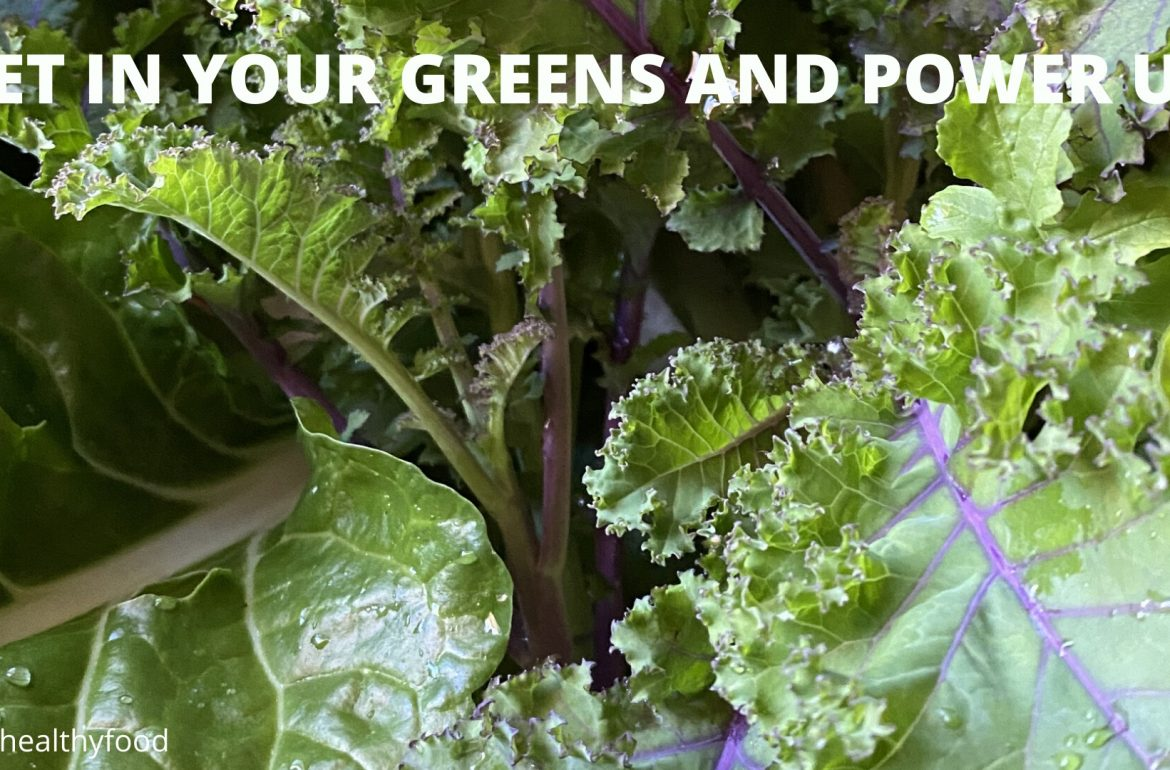 Mixed Green Leafy Vegetables